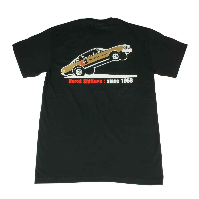 Hurst 652201 Black Small Nostalgia T-Shirt
