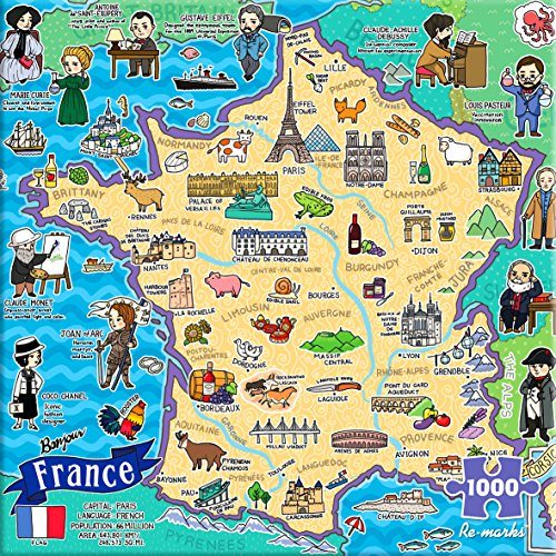 Re-Marks Map of France -
