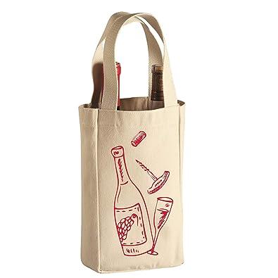 Amazon.com: Bolsa de vino portador de vino bolsa de vino ...