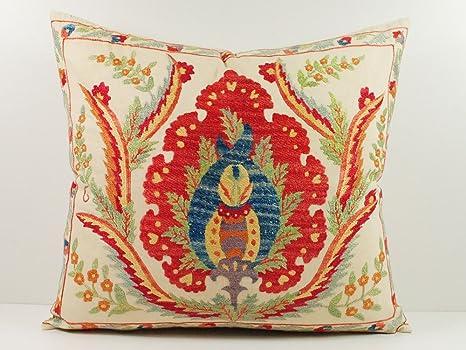 Amazon.com: Anatolian Pattern – Funda de almohada de Suzani ...