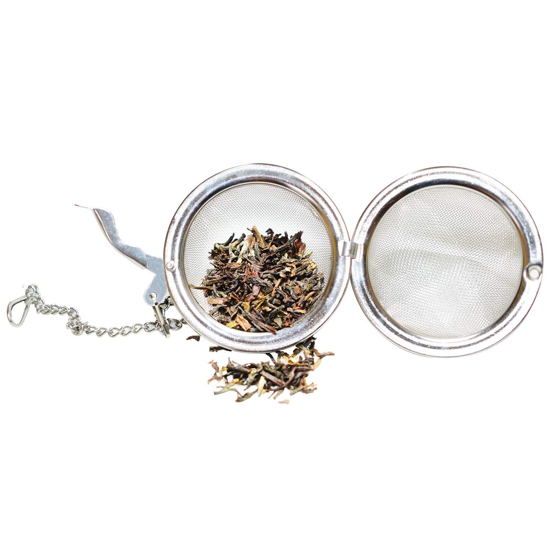 Teamonk Anoma Tea Infuser Pack of 2 /… Tea Infuser, Tea Strainer, Tea Filter, Tea Maker, Tea Ball, Stainless Steel