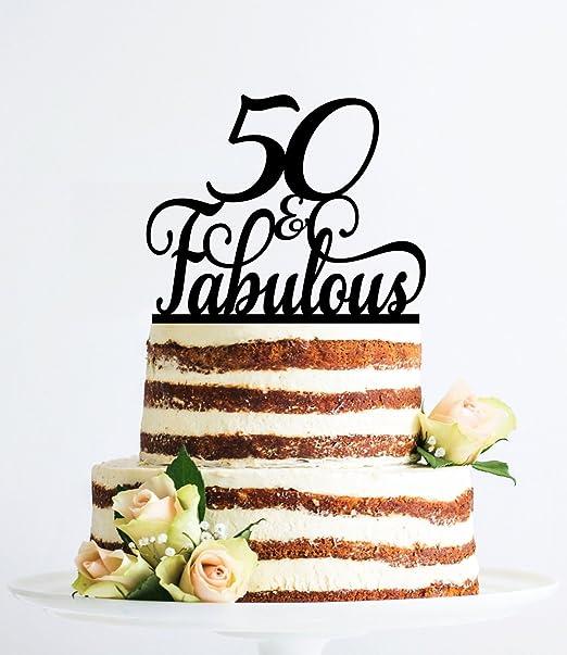 Qidushop 50 E Favoloso Regalo Di Compleanno Per Donne Di Classe