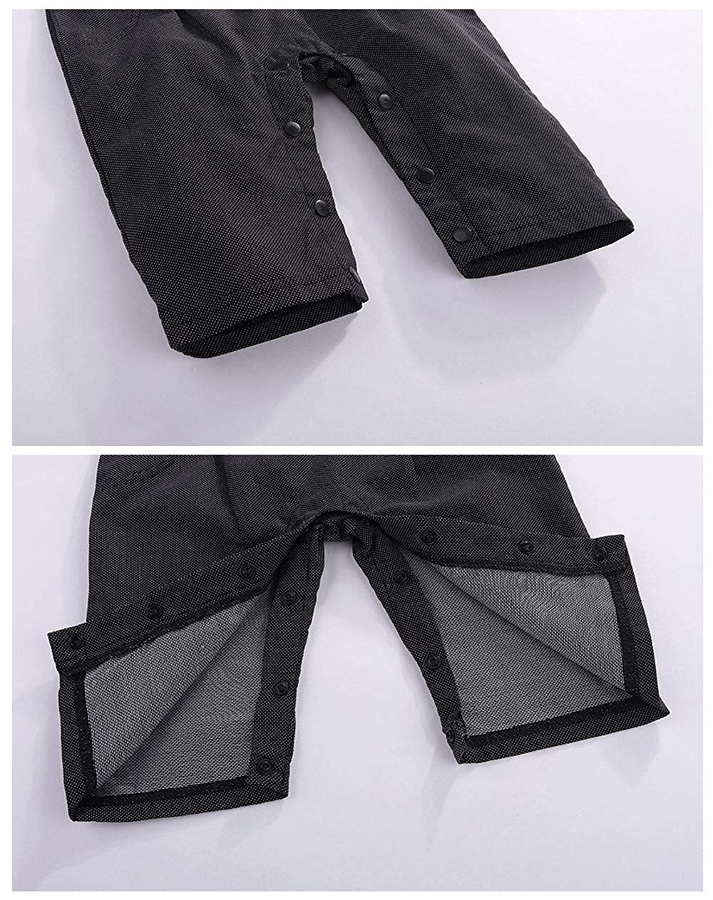 da10b1375c28f cool elves - 3 PCs Vêtements Suite Bébés Garçons Costume Bavette T-Shirt  Noeud Papillon