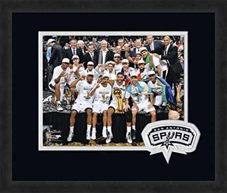 Amazon Nba San Antonio Spurs Logo Mat Picture Frames Black
