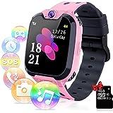 Relojes para Niños - Música Smartwatch para Niños Niña Game Watch (Tarjeta SD de 1GB incluida Pantalla táctil Relojes…