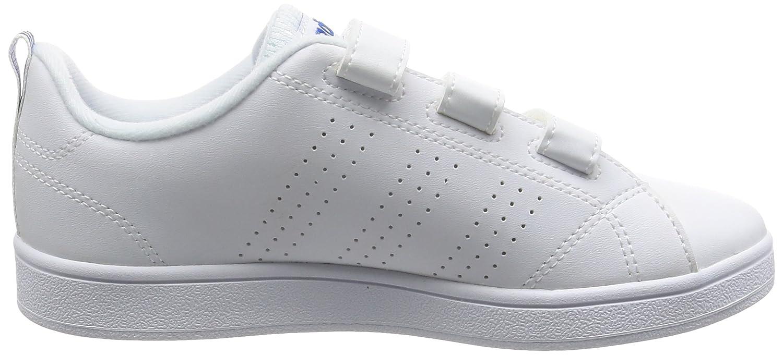 new style 9d699 d1df9 adidas VS Advantage Clean CMF C - Zapatillas deportivaspara niños, Blanco -  (FTWBLAFTWBLAAzul), 32 Amazon.es Deportes y aire libre
