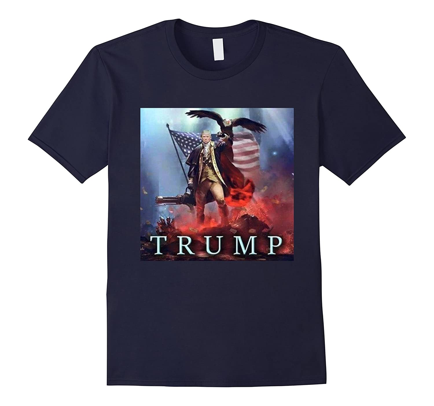 ShirtWerks Epic Trump Eagle T-Shirt-CD