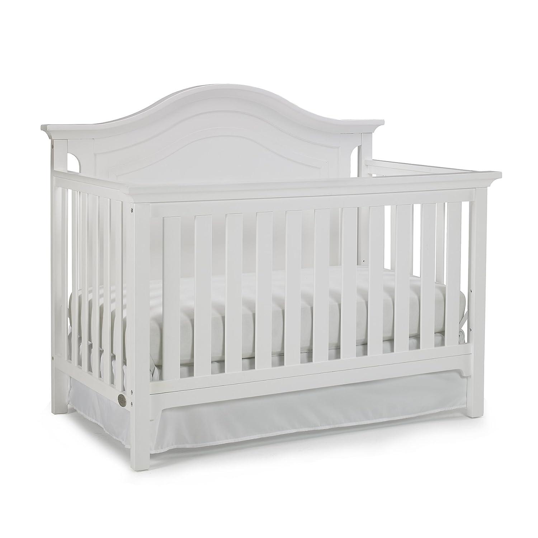 Ti Amo Catania 4-in-1 Convertible Crib, Snow White