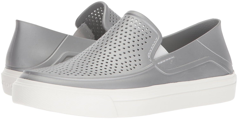 Amazon.com | Crocs Womens Citilane Roka Metallic Slip On Sneaker | Fashion Sneakers
