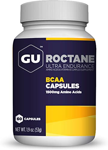 GU Energy Roctane Ultra Endurance Branch Chain Amino Acid and Vitamin B Exercise Recovery Capsule