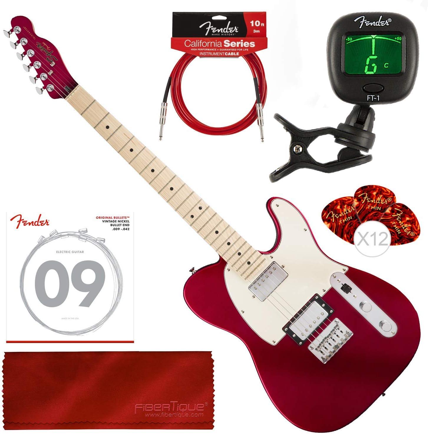Squier by Fender guitarra eléctrica contemporánea Telecaster HH ...