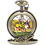 Deer Pocket Watch P - 301