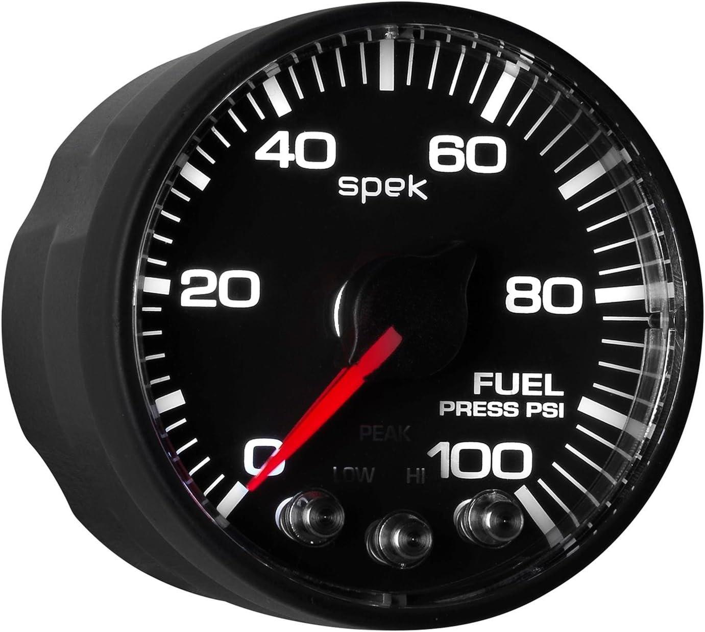 0-100 Psi BFB Spek Auto Meter P514328 Pro-Nascar 2-1//16 Fuel Press ECU