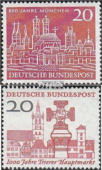 Prophila Brd Brdeutschland 289290 Komplausg 1958 München