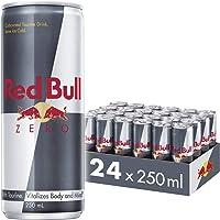Red Bull Energy Drink Zero Calories 24 Pack of 250 ml