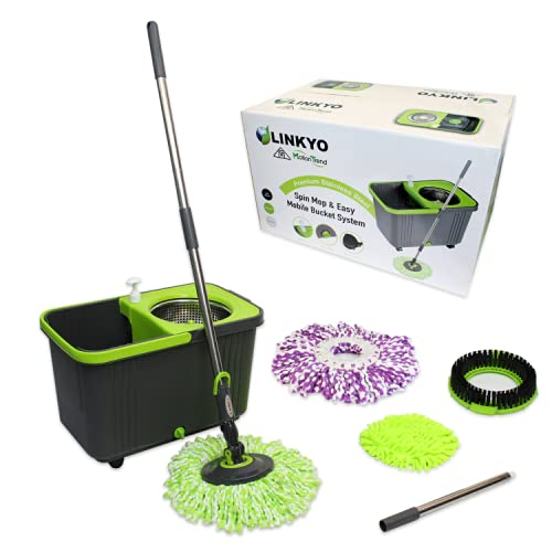 If you have a mixture of laminate and tile, then this spin mop is ideal for  average cleaning or wet spills that you can tend to on both types of  flooring. - 10 Best Mops For Laminate Floors 2017 Vacuum Top