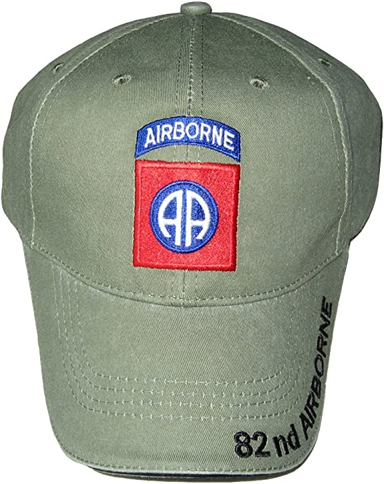 Amazon.com  U.S. Army 82nd Airborne Baseball Cap. OD Green ... afdeb236f8b