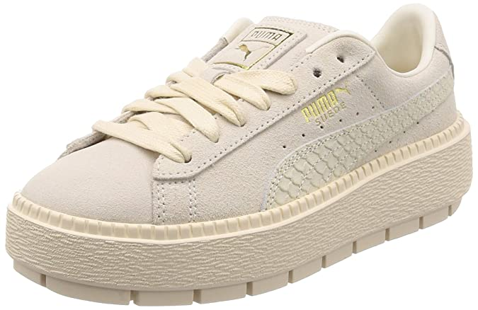 bab2a6bd8f70 Puma Suede Platform Trace Trainers  Amazon.co.uk  Shoes   Bags