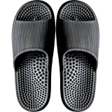 Rition Men/Women Non-Slip Massage Slippers for Bathroom and Shower, Sandles for Outdoor Swimming Pool, Beach, and Garden