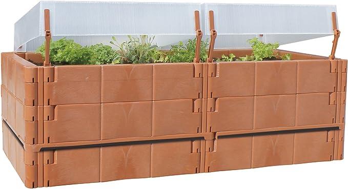 Juwel Balcón Bancal o terraza cultivo plantas Terracota 20275 ...