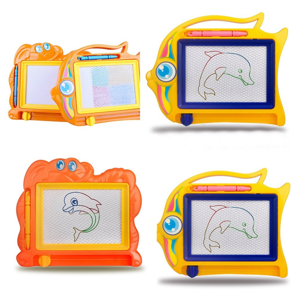 Cartoon modello Baby Kids magnetica cancellabile scrivere disegnare, bambino Toy –  colore casuale Rycnet bambino Toy-colore casuale Rycnet