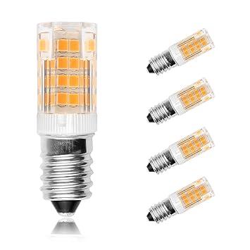 Ascher 4er Pack E14 5W LED Lampe (vgl. 30W Halogen) 350 Lumen - E14 ...