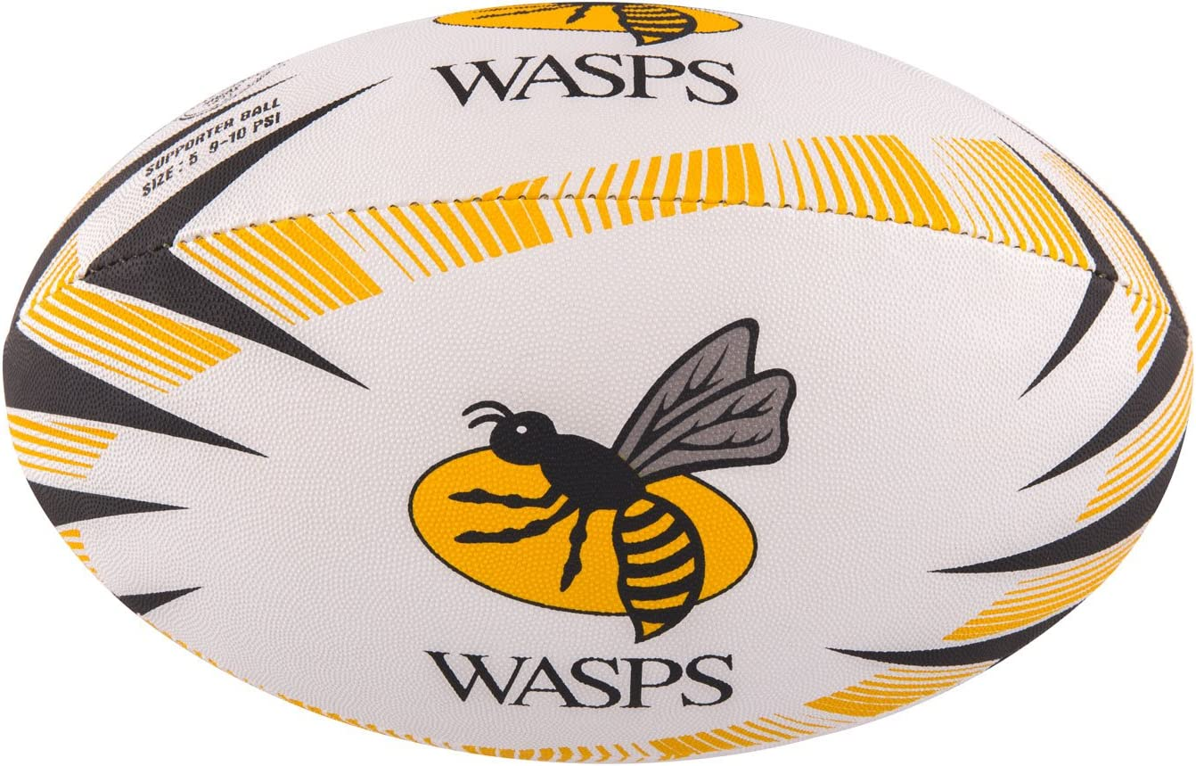 Gilbert Wasps Supporter Rugby Ball Amazon Co Uk Sports Outdoors