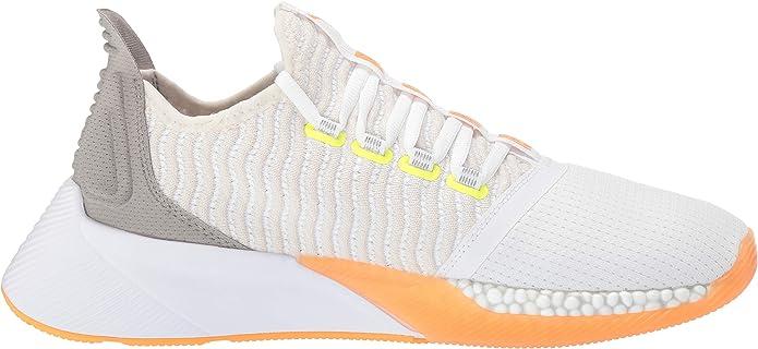 PUMA Xcelerator, Zapatillas Deportivas. para Hombre, White Vaporous Gray Orange Pop Fizzy Yellow, 36 EU: Amazon.es: Zapatos y complementos