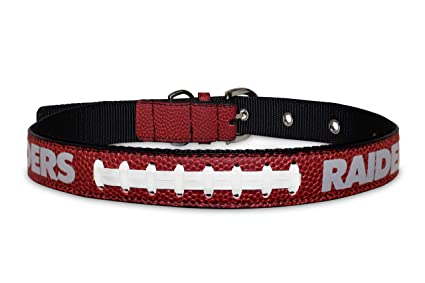 0f6925619 Pet Supplies   Pets First NFL Oakland Raiders Premium Dog Collar ...