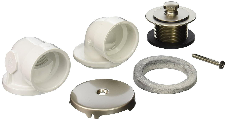 Jones Stephens B0752NP PVC Friction Lift Half Kit Pearl Nickel Jones Stephens Corporation