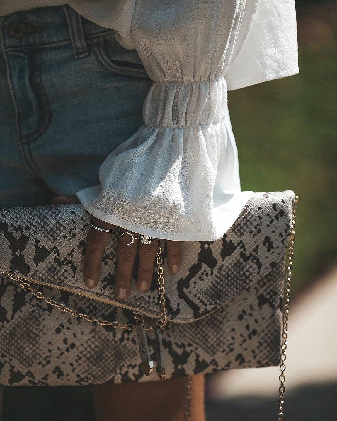 Mujeres Vintage Victorian Pull Over Trompeta Manga Suelta Top Cuello Alto con Volantes Volantes Blusa Camisa