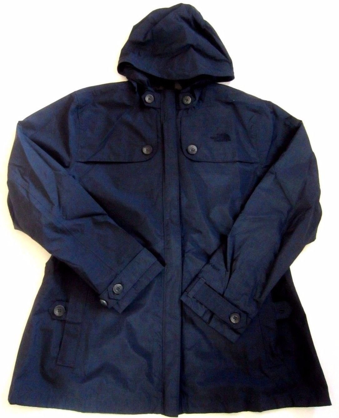 THE NORTH FACE Carli Jacket damen Wetterschutz Regenjacke navy XL 42