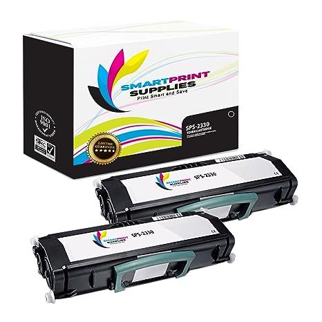 Amazon.com: Impresión suministros 330 – 2666 2 Pack negro ...