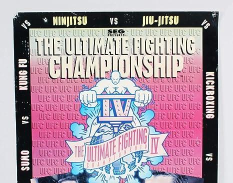 מתוחכם Royce Gracie Signed Poster UFC 4 SEG - COA JSA at Amazon's Sports VJ-69