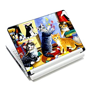 Cat Laptop Sticker Notebook Skin Covers Computer Accessories For Macbook/Acer /Hp,17 Inch,Laptop Skin 1