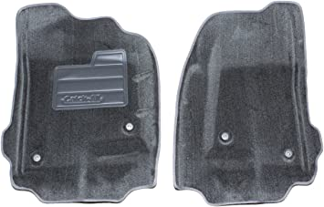 Set of 2 Lund 600655 Catch-All Carpet Charcoal Front Floor Mat