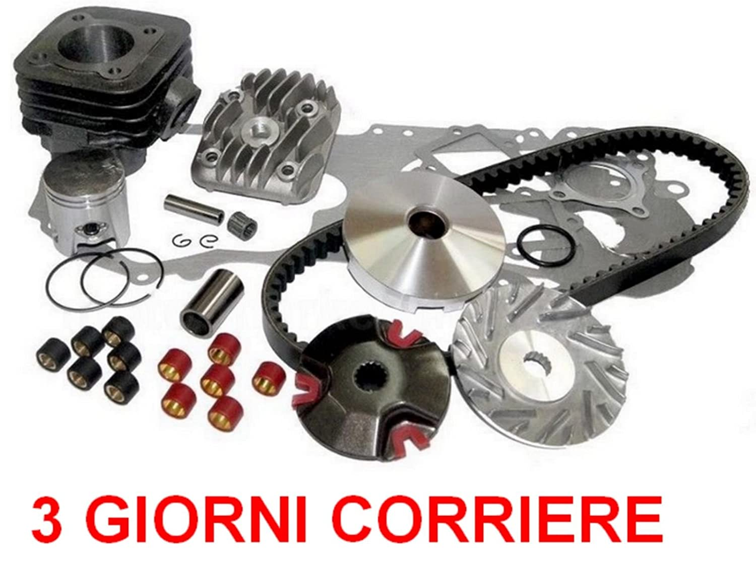 VARIATORE Kit Set per KEEWAY F-Act Evo 50 Unbranded 70cc Gruppo Cilindro