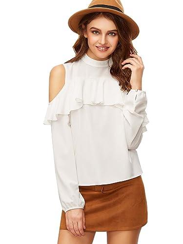 Romwe - Camisas - Básico - para mujer