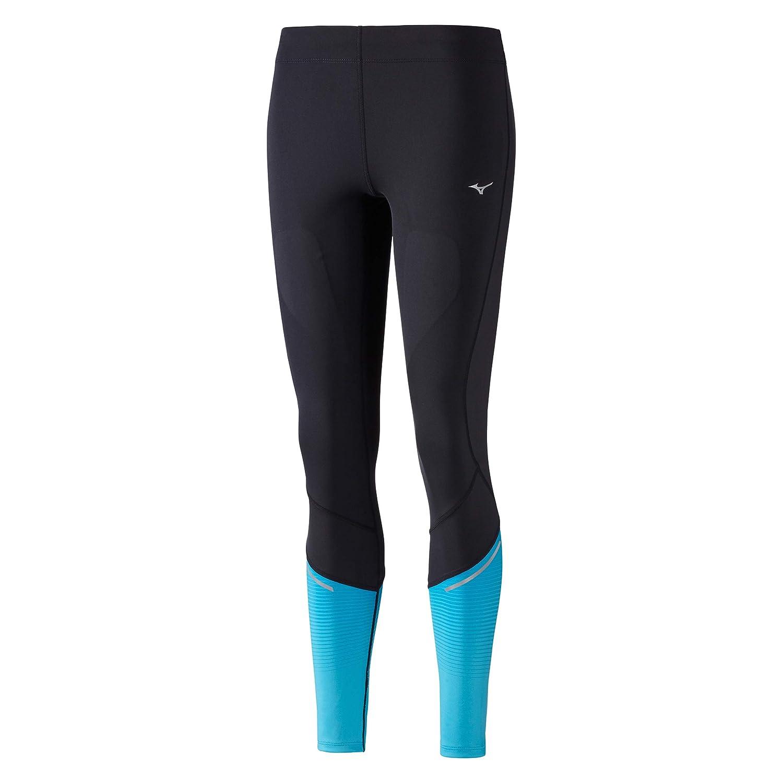 Mizuno Damen Static Bt Tight Laufbekleidung Lauftight Schwarz - Blau Xs