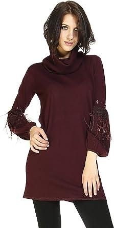 MIMI-MUA Vestido/Camisa-Plum: Amazon.es: Ropa y accesorios