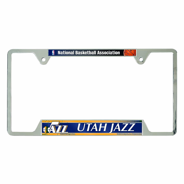 Amazon.com : WinCraft NBA Chicago Bulls Metal License Plate Frame ...