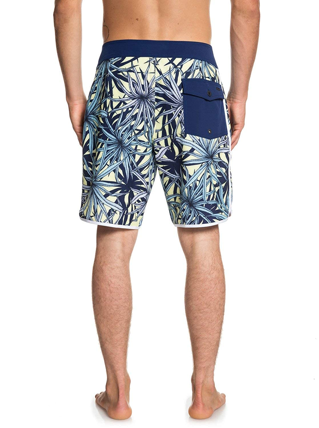 Quiksilver Mens Highline Pandana 19 Boardshort Swim Trunk