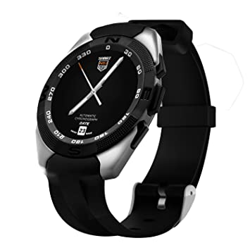 Bluetooth Smart reloj/reloj de pulsera digital – Fitness Tracker Cardio sueño SmartWatch con ranura