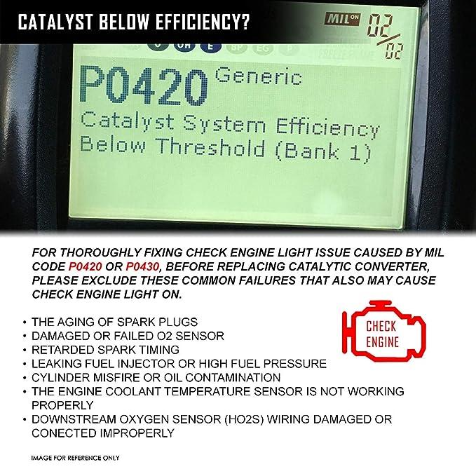 Amazon com: OE Style Catalytic Converter Exhaust Manifold Right