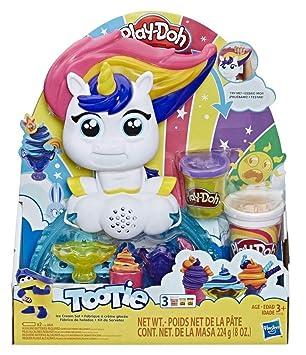 Play-Doh - Unicornio Helados Deliciosos (Hasbro E5376EU4): Amazon ...
