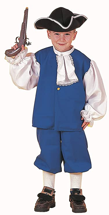 Forum Novelties Colonial Boy Costume, Child's Large