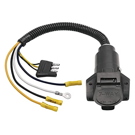 circuits diagrams, led circuit amazon com: reese 20321  adapter/connector 4-flat to 7: automotive trailer