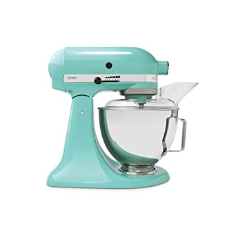 Kitchenaid 5ksm45eaq Robot Patissier Bleu Ciel Amazon Fr