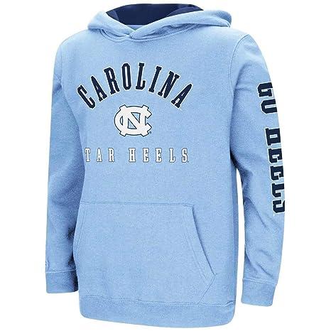 e38b3a7a Colosseum North Carolina Tarheels UNC Youth Hoodie Pullover Sweatshirt (YTH  (6-7)