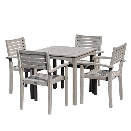 Christopher Knight Home Cantinela Outdoor Grey 3-piece Folding Set